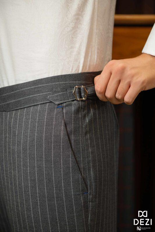 Chất liệu tốt sẽ mang đến cho quý ông chiếc quần âu hoàn hảo nhất